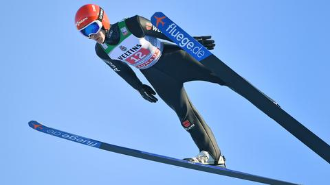 Stephan Leyhe in Garmisch-Partenkirchen