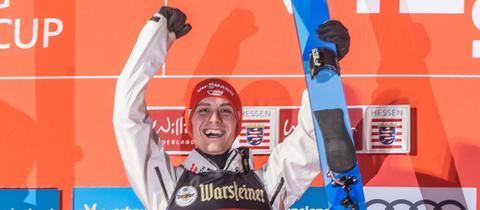 Stephan Leyhe triumphiert in der Heimat.