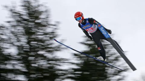 Stephan Leyhe hatte einen guten Tag in Innsbruck.