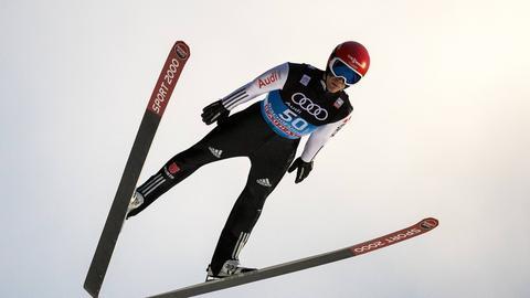 Stephan Leyhe springt in Bischofshofen