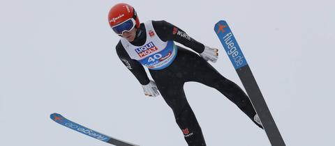 Stephan Leyhe bei der Nordischen Ski-WM