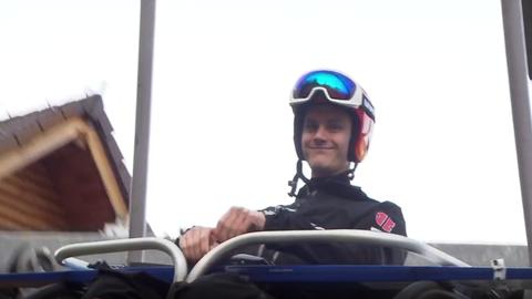 Leyhe Skispringen