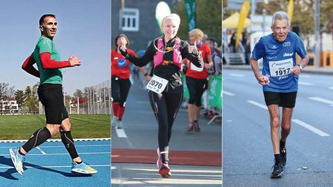 Szenen aus dem Marathon