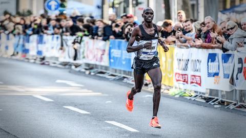 Marathon-Läufer Mark Korir