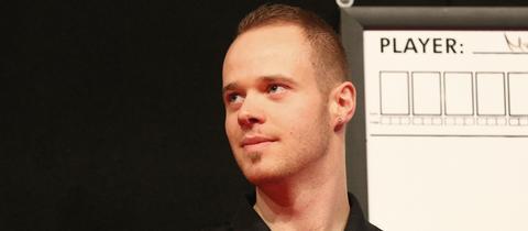 Max Hopp will bei der Darts-WM auftrumpfen