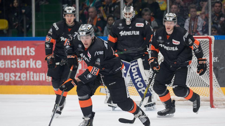 DEL2: Löwen gewinnen, Spektakel in Bad Nauheim