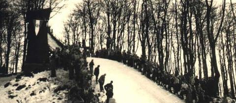 Kurt-Moosdorf-Schanze in Schotten