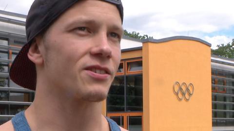 Fabian Hambüchen in Kienbaum.