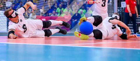 Die deutschen Goalballer wollen bei den Paralympics ganz oben stehen.