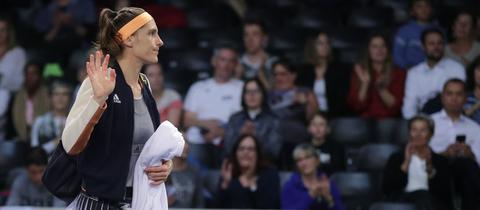 Tennis-Spielerin Andrea Petkovic wird länger als zunächst gedacht ausfallen.