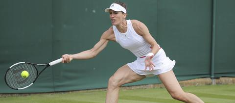 Andrea Petkovic in Wimbledon