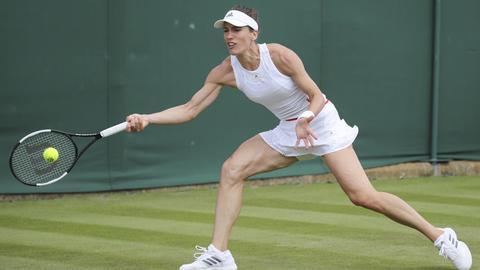 Andrea Petkovic in Wimbledon