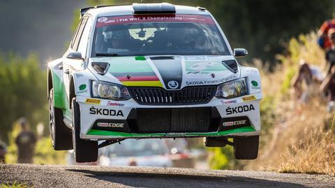 Rallye-Fahrer Fabian Kreim