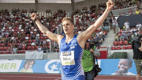 Julian Reus startet am Freitagabend mit dem ersten Vorlauf bei der Leichtathletik-WM in London.