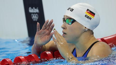 Schwimmerin Sarah Köhler