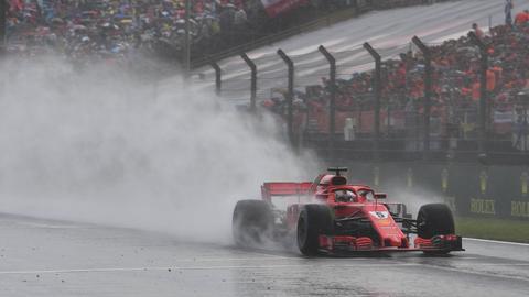 Sebastian Vettel fuhr im Qualifying zum Ungarn-Grand-Prix nur die viertschnellste Zeit.
