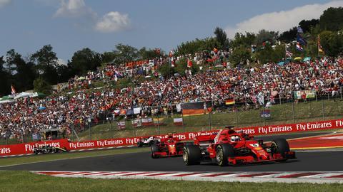 Vettel in Budapest