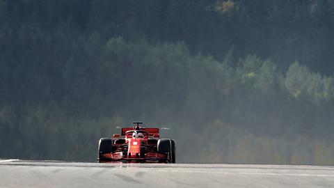 Sebastian Vettel wurde Elfter in der Quali zum Grand Prix der Eifel.