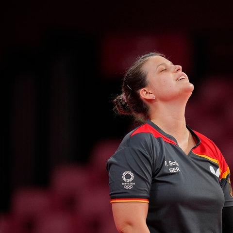 Petrissa Solja erlebte im Einzel die zweite Niederlage.