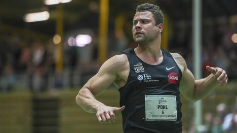 Michael Pohl vom Sprintteam Wetzlar