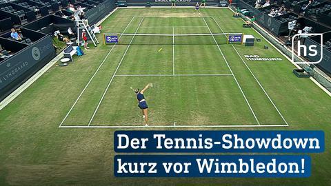 Szene aus einem Tennis-Match