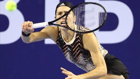 Die Darmstädterin Andrea Petkovic hat das Viertelfinale verpasst.