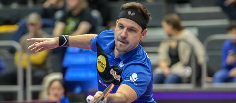 Timo Boll bei den Tischtennis German Open 2020