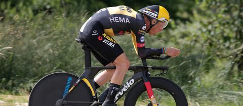 Tony Martin bei den Deutschen Radmeisterschaften im Zeitfahren