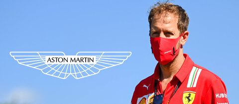 Sebastian Vettel hat ab 2021 einen neuen Arbeitgeber.