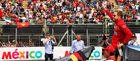 Ferrari-Pilot Sebastian Vettel