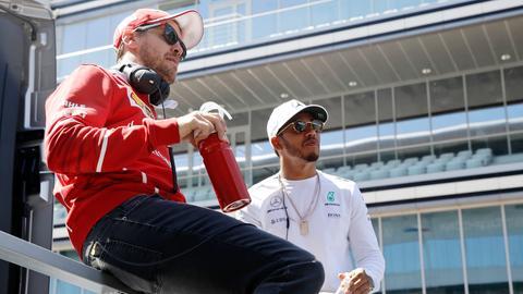 Vettel und Hamilton