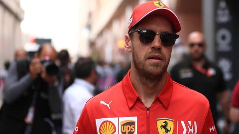Ferrari-Pilot Sebastian Vettel.