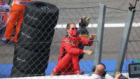 Sebastian Vettel Ferrari Monza