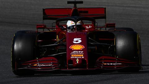 Sebastian Vettel Ferrari Mugello