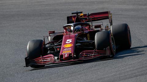 Sebastian Vettel in Mugello