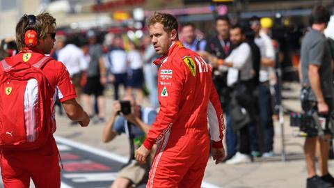 Formel 1-Pilot Sebastian Vettel übt scharfe Kritik.