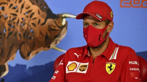 Sebastian Vettel in Spielberg