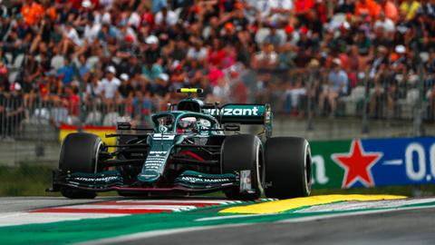 Sebastian Vettel auf der Strecke in Spielberg