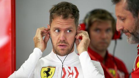 Sebastian Vettel in Suzuka