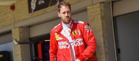 Sebastian Vettel in Texas