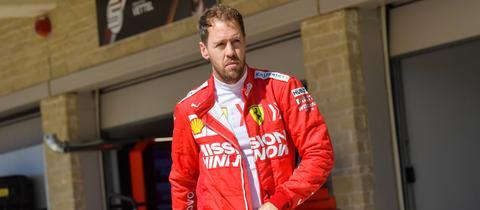 Sebastian Vettel in Texas