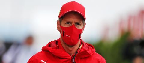 Sebastian Vettel in Ungarn