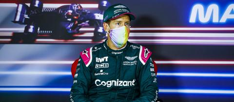 Sebastian Vettel nach dem Großen Preis von Ungarn