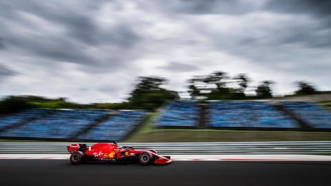 Sebastian Vettel hat das Treppchen beim Großen Preis von Ungarn verpasst.