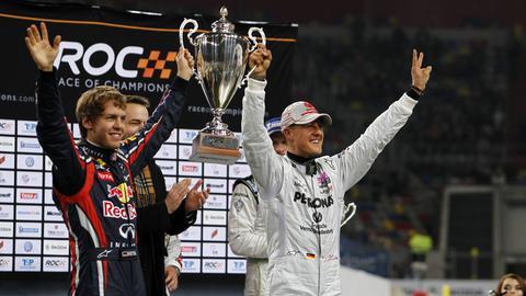 Sebastian Vettel und Michael Schumacher haben sich hoch geschätzt.