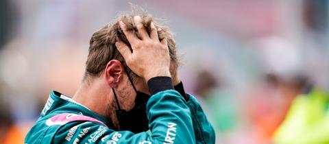 Frust bei Sebastian Vettel