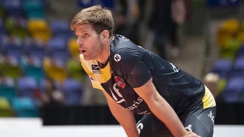 Kapitän Sebastian Schwarz von den United Volleys