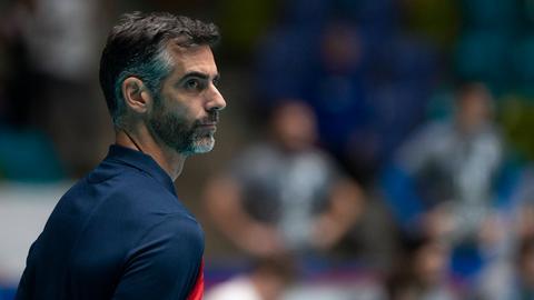 Juan Manuel Serramalera, Trainer der United Volleys