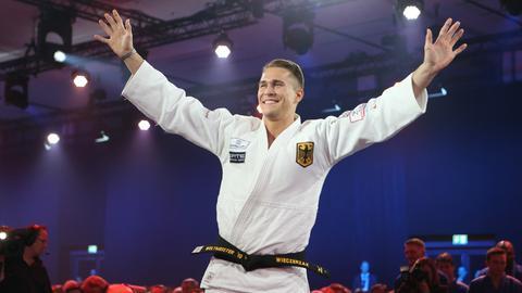 Judokämpfer Wieczerzak