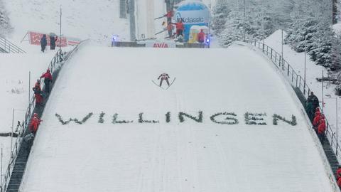 Skisprung-Weltcup in Willingen.